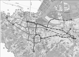 按照规划,2030年绍兴将拥有8条brt线路