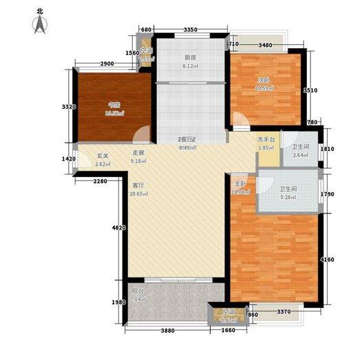 户型点评26期:光明澜山113㎡三室两厅一厨两卫