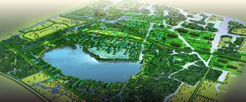 南湖公园,梅山江,镜湖风景区,湿地公园等环抱的绝佳自然环境,是城市