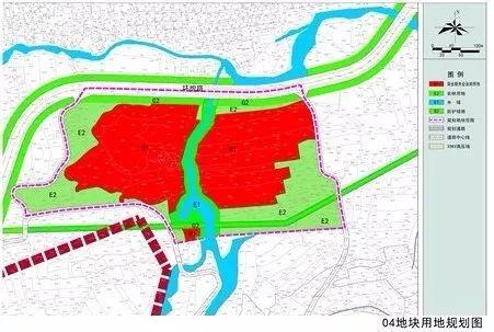 鹿泉区761亩土地规划曝光 位于石井乡 规划建设商业