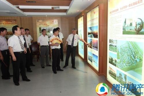 杨卓舒总裁与王凤瑞书记共商大同县新型城镇化建设