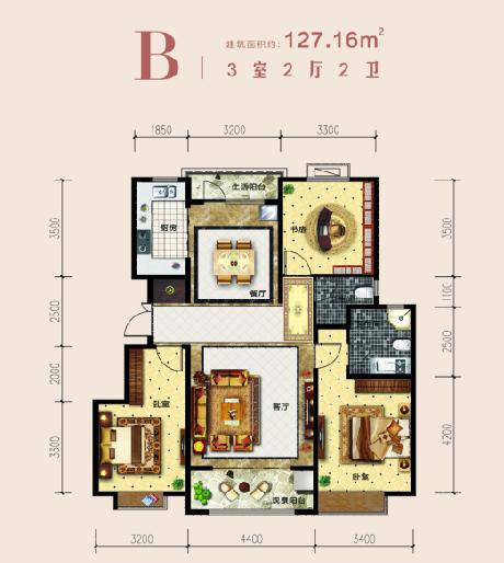 品质住宅的标准:用大面宽给你多一米阳光