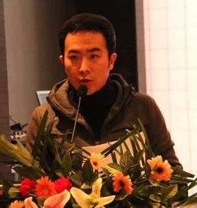 新时尚演绎经济有限公司总经理张鹏致辞