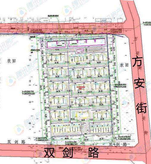 官曝鹿泉区1别墅项目二期规划 占地52.63亩
