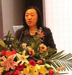 河北省珠宝玉石首饰行业协会秘书长陈平致辞