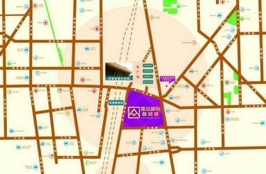 塔坛国际商贸城区位图