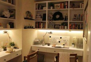 林荫大院97平两室两厅一卫样板间书房