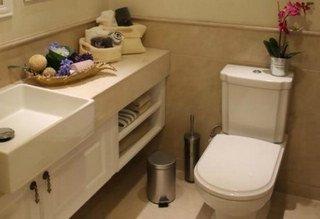 林荫大院97平两室两厅一卫样板间盥洗室