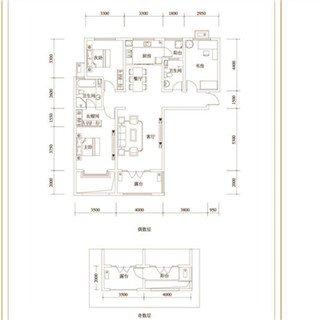 3室2厅2卫 135�O