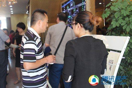 腾讯钜惠淘房团走进观澜新城 五证好盘人气爆棚