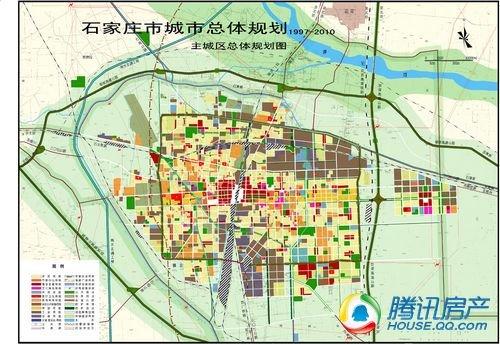 石家庄城市规划图-奥运年 石家庄城市规划四大猜想