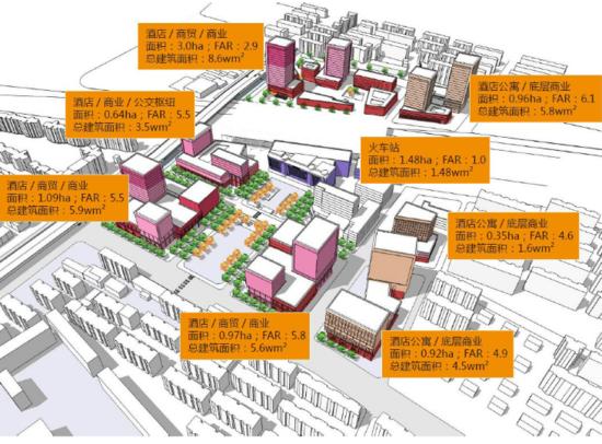 官曝北站扩建城市设计 塑造城市门户形象
