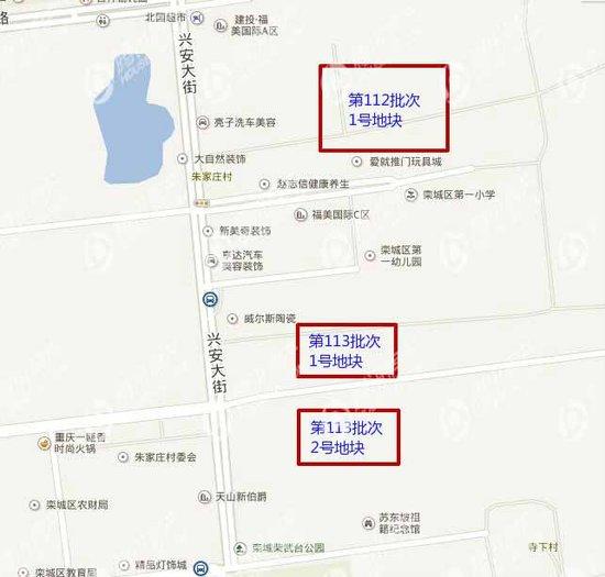 栾城区最新规划图开水