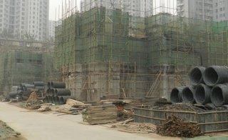 新合作城市广场工程进度图