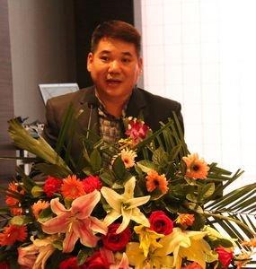 润石地产总经理刘世红致辞