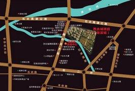 龙溪城区位图
