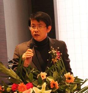 惹目集团总经理张金峰致辞