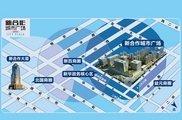 新合作城市广场区位图