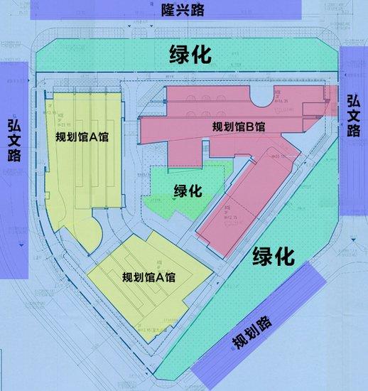 正定新区规划馆曝光:预计用地32亩图片
