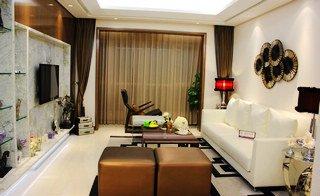 紫晶悦城129平三室两厅一卫样板间客厅