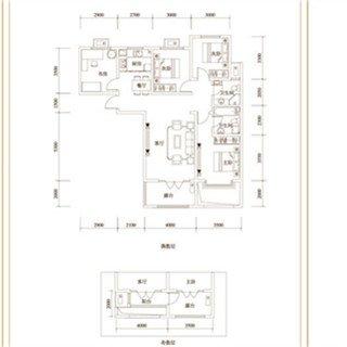 3室2厅2卫 158�O