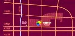 紫晶悦城交通图