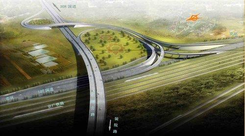 交通再升级!石家庄绕城高速修建 新四区优质住宅大盘点