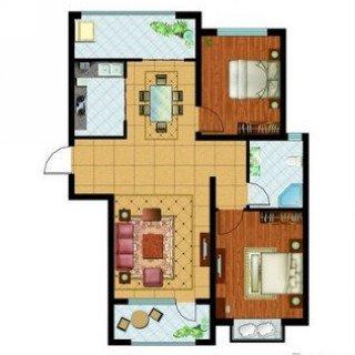 星洲美域 两室二厅一卫