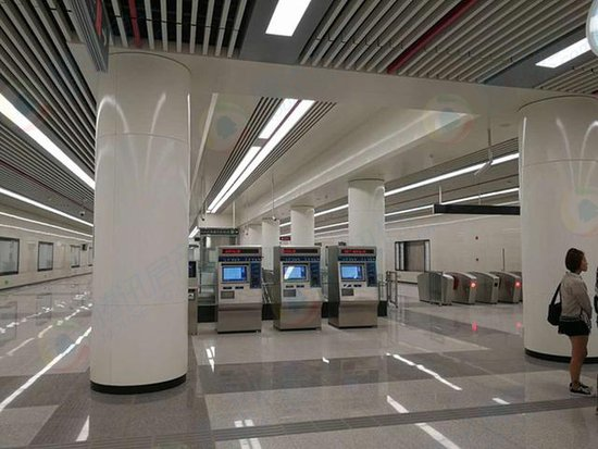今天,我们穿越在时光隧道里——石家庄地铁试乘记