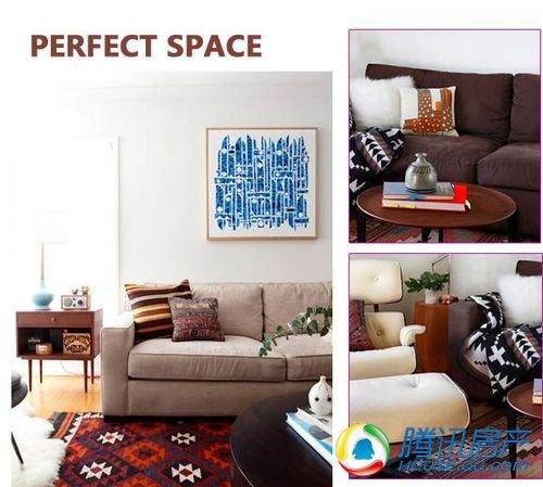 色彩控的最爱 八套客厅时尚搭配方案集中展示