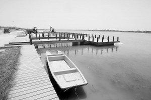 正定滹沱河水面建亲水平台和码头 圆市民亲水梦