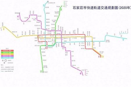 石家庄城市规划建设四大猜想-石家庄地铁规划图图片 石家庄地铁规