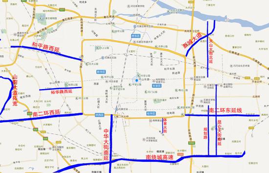 石家庄道路西延规划图-石家庄开启城市3.0时代 究竟是真相还是假象