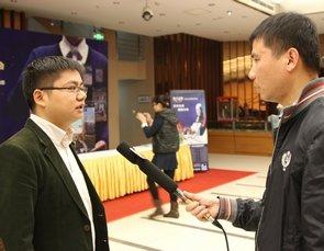 腾讯网房产中心主编陈茂林接受媒体采访