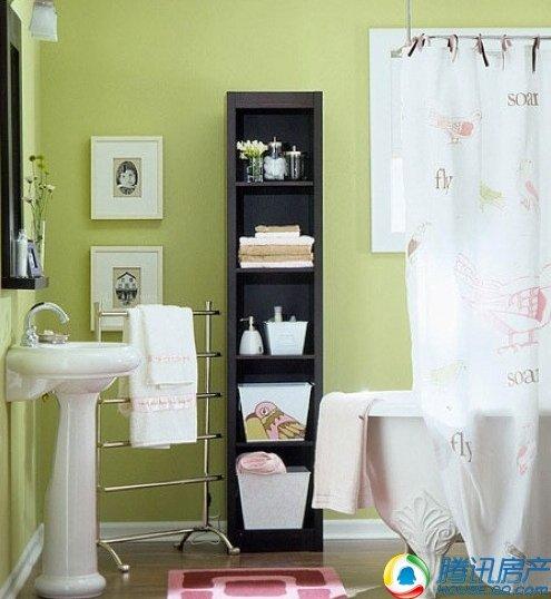 30图诠释卫浴收纳 7招扩容卫浴空间