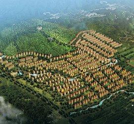 奥冠水悦别墅鸟瞰图华中顺义区北京马坡镇龙庭园图片