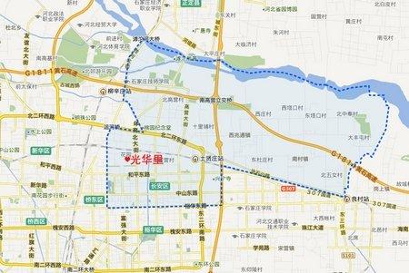长安区地图_长安区行政地图