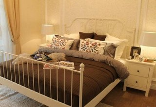 林荫大院135平三室两厅两卫样板间卧室