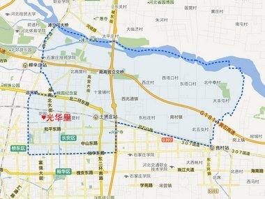 长安区地图