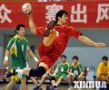 组图:全运会男子手球预赛 江苏队夺冠