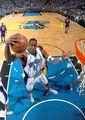 组图:总决赛第4战 魔兽强抢篮板一手遮天
