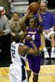 组图:湖人4-1胜魔术第15次夺NBA总冠军