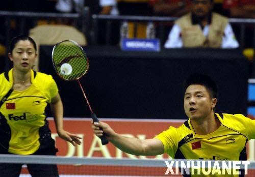 印尼公开赛 谢中博 张亚雯进八强