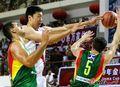 组图:中立男篮挑战赛第2场 中国再负立陶宛