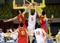 组图:中国男篮71-68惊险胜黎巴嫩