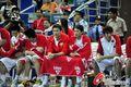 图文:中国79-81土耳其 男篮板凳席显落寞