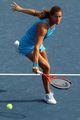 组图:毛瑞斯莫轻取对手 跻身美网女单第二轮