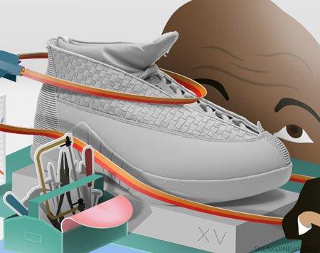 aj球鞋手绘图创意