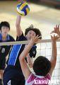 组图:全国青年女排冠军赛辽宁胜内蒙古