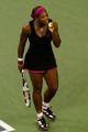 组图:女单半决赛终于开打 小克战胜小威晋级